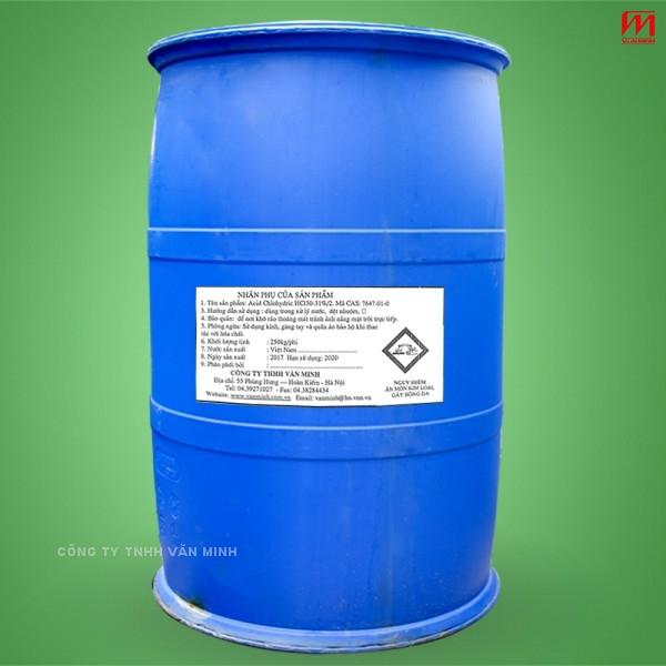 acid chlohydric 250kg